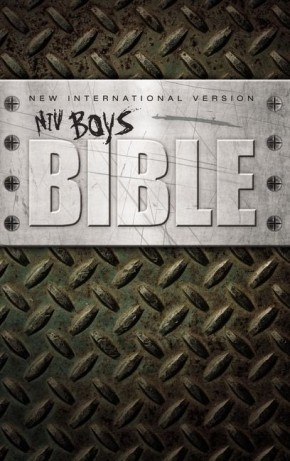 NIV, Boys Bible, Hardcover *Scratch & Dent*