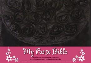 NIrV, My Purse Bible, Leathersoft, Black