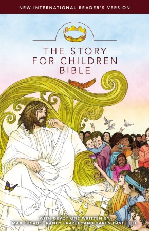 NIrV, The Story for Children Bible, Hardcover *Scratch & Dent*