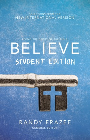 Believe Student Edition, Paperback: Living the Story of the Bible to Become Like Jesus *Scratch & Dent*
