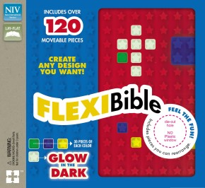 NIV, Flexi Bible, Leathersoft, Red