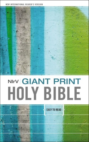 NIrV, Giant Print Holy Bible, Giant Print, Hardcover *Scratch & Dent*