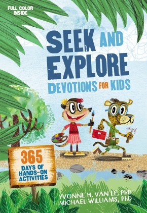 Seek and Explore Devotions for Kids: 365 Days of Hands-On Activities *Scratch & Dent*