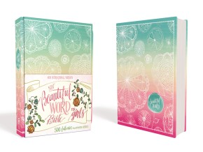 NIV, Beautiful Word Bible for Girls, Hardcover, Floral: 500 Full-Color Illustrated Verses *Scratch & Dent*