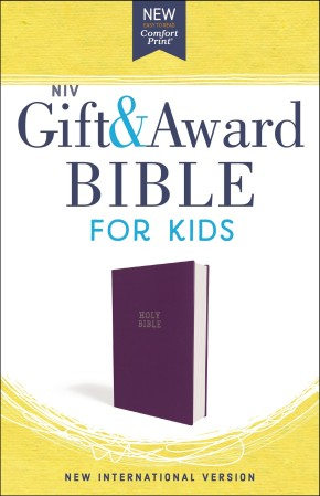 NIV, Gift and Award Bible for Kids, Flexcover, Purple, Comfort Print