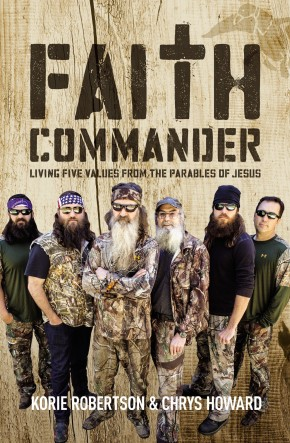 Faith Commander: Living Five Values from the Parables of Jesus *Scratch & Dent*