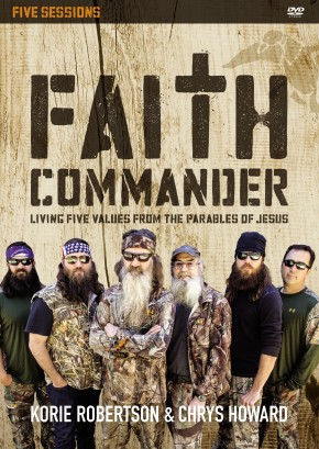 Faith Commander: A DVD Study: Living Five Values from the Parables of Jesus