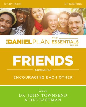 Friends Study Guide with DVD: Encouraging Each Other (The Daniel Plan Essentials Series)