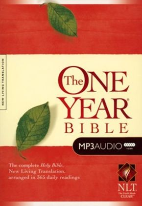 The One Year Bible NLT, MP3 (Audio CD)